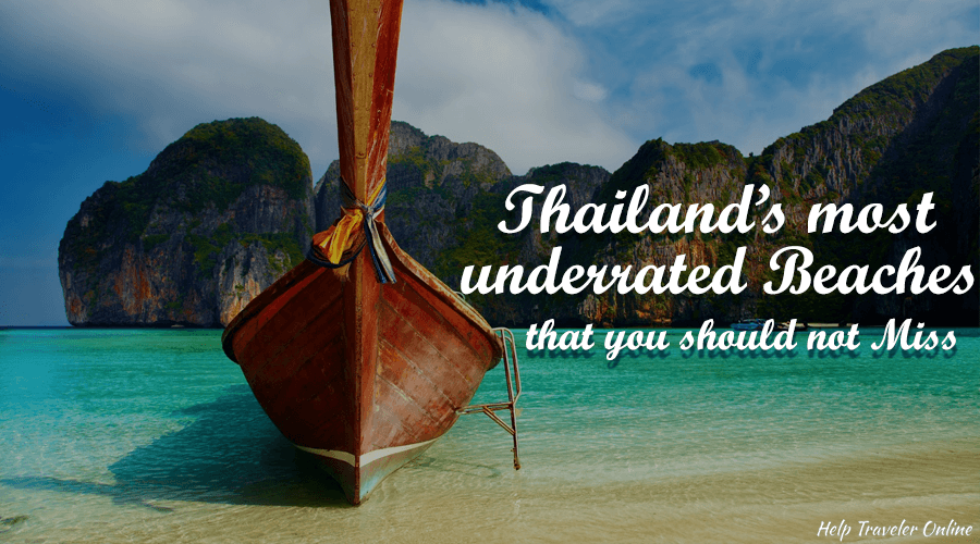 Thailand Most Underrated Beaches