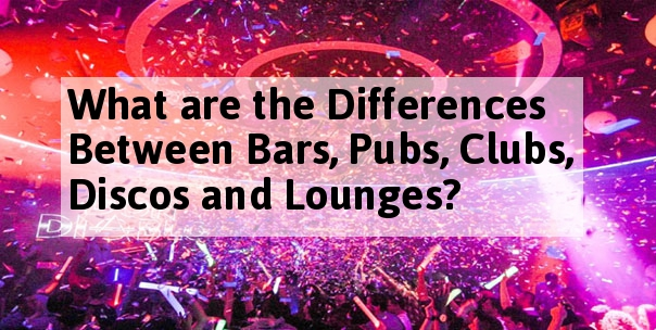 difference between pub and disco